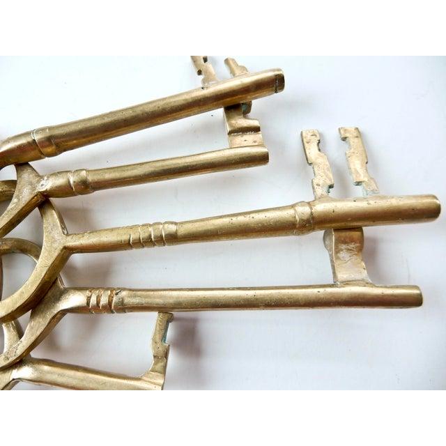 Vintage Brass Skeleton Keys - Image 8 of 9