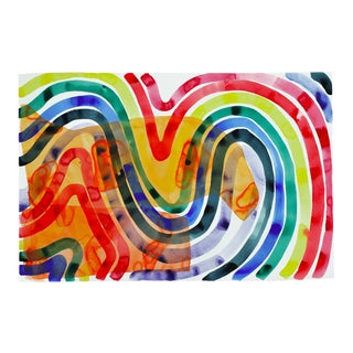 "Kate Roebuck ""Rainbow"" Painting"