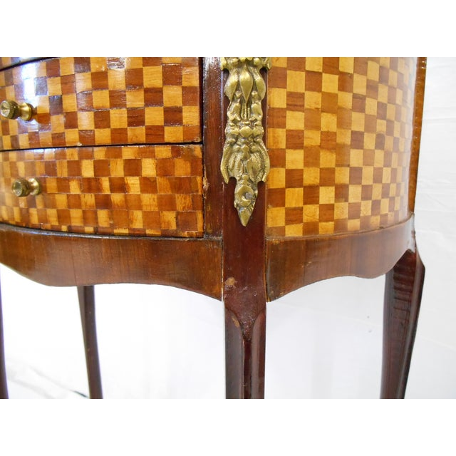 Image of French-Style Demilune Side Table