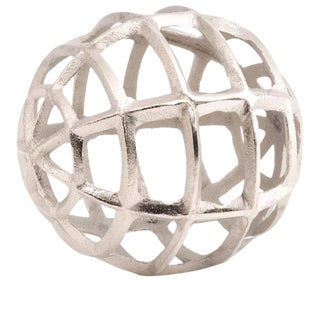 Modern Metal Art Lattice Orb