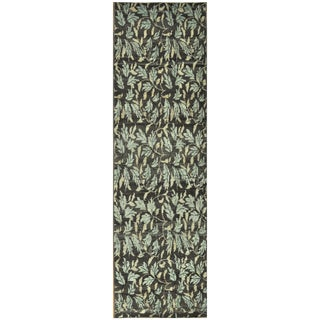 Surena Rugs Modern Design Handmade Turkish Rug - 2′5″ × 8′1″