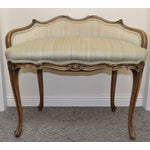 Image of French Provincial Vanity Settee C.1920's