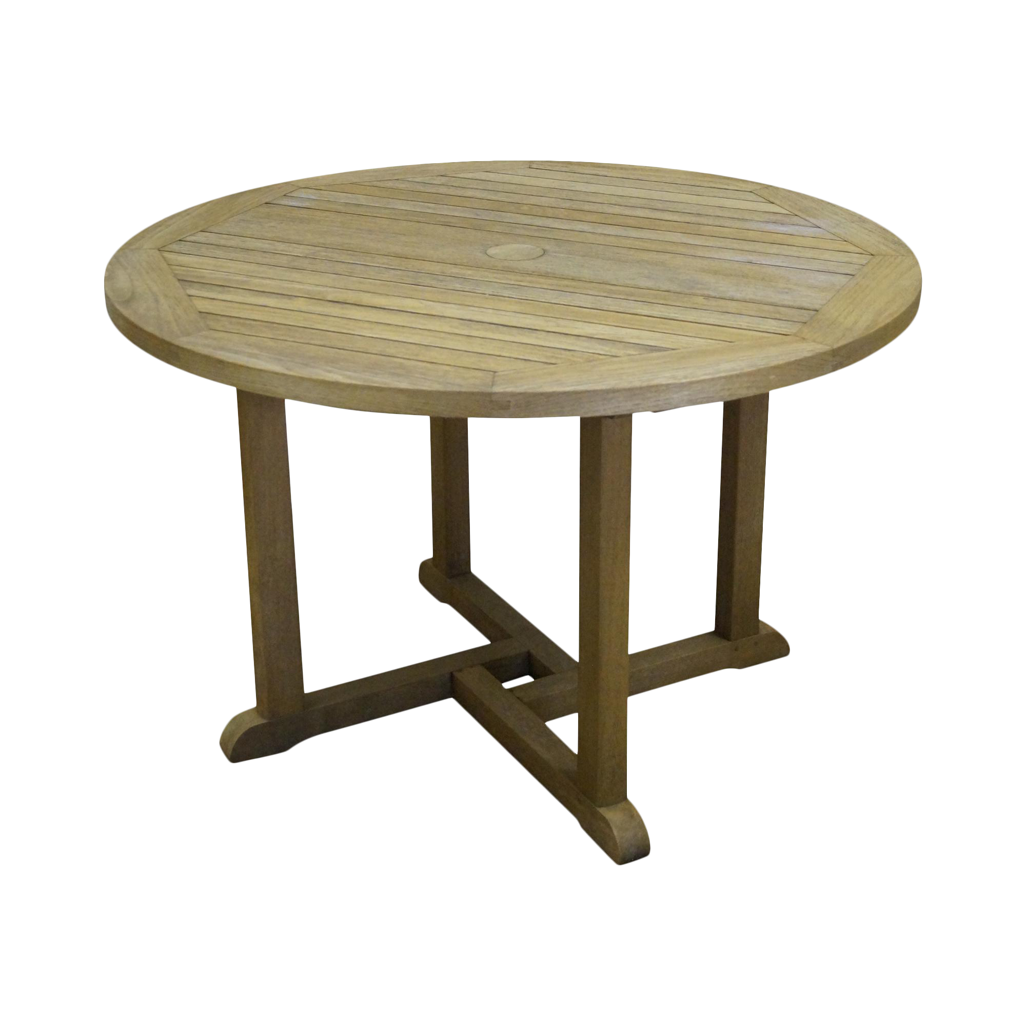 Barlow Tyrie Teak Outdoor Waveney Round Dining Table  : 7ad18fc9 b03d 4ad2 9f42 4a22b39fa322aspectfitampwidth640ampheight640 from www.chairish.com size 640 x 640 jpeg 30kB