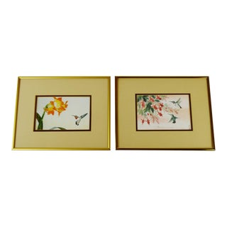 Vintage Anton Wang Signed Limited Edition Prints - a Pair