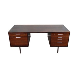 Mid Century Modern Rosewood Executive Desk