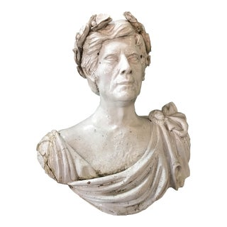 Italian Ceramic Bust of a Man