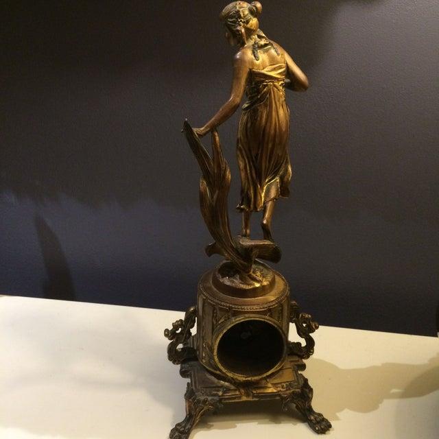Bronze Sculptural Clock - Image 5 of 8