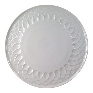 White Porcelain Serving Plate