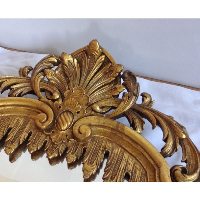 French Gilt Carved Mirror - Image 7 of 10