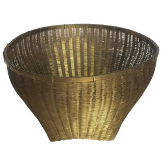 Solid Brass Basket