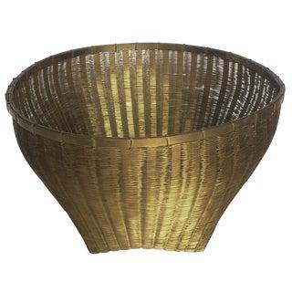 Solid Brass Basket