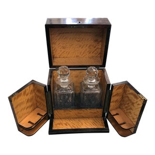 Cased Decanter Set - A Pair
