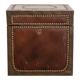 Regency Brass & Leather Campaign Box