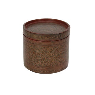 Antique Tibetan Painted Grain Box