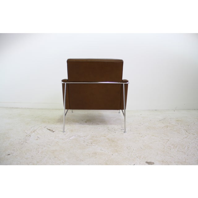 Fritz Hansen Leather Lounge Chair - 6 Avail. - Image 3 of 7