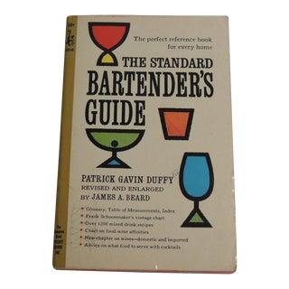Vintage Bartending Book
