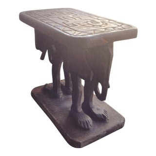 Elephant Tables - A Pair