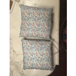 Image of Custom Made Multi Color Dotted Pillows - A Pair