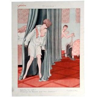 """Pem 1926 Le Sourire """"Alarme"""" Print"""
