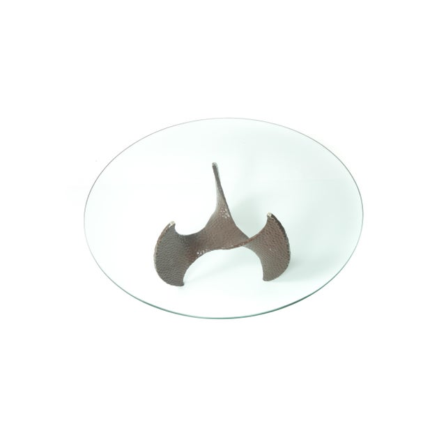 Image of Brutalist Style Propeller Coffee/End Table Base