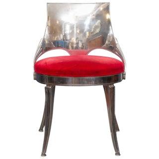 Dorothy Draper Aluminum Side Chair