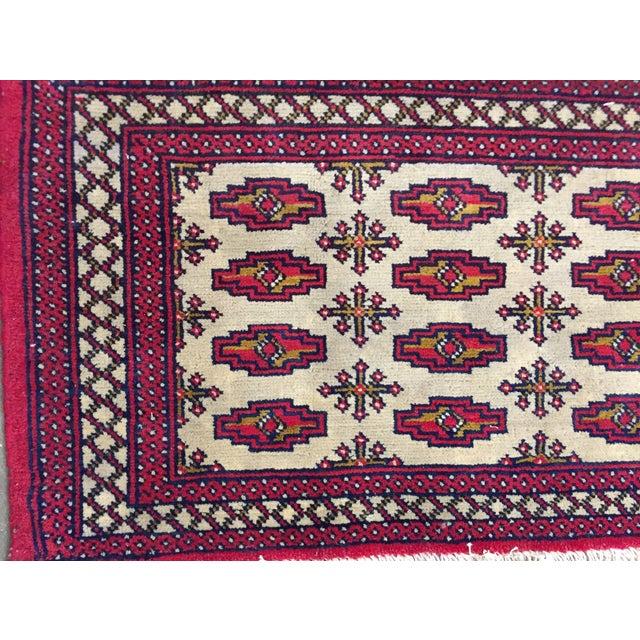 "Turkaman Persian Handmade Rug - 1'8"" x 3'5"" - Image 3 of 9"