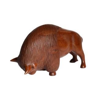 Danish Carved Bison
