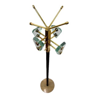 Style of Fontana Arte Mid-Century Coat Stand