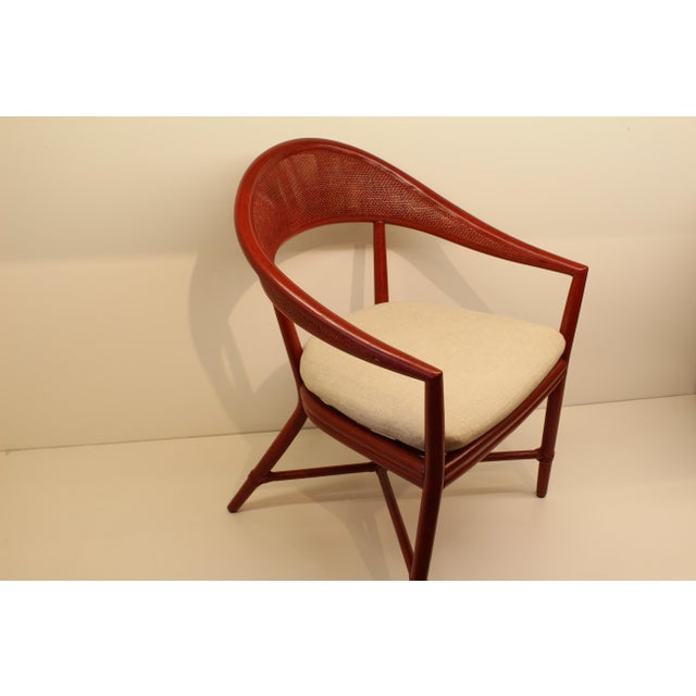 Image of McGuire White Mallorca Chair