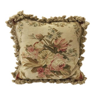 Shabby Aubusson Accent Pillow