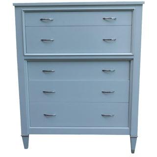 Century Furniture Gray Highboy Dresser