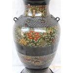Image of Large Champleve Enameled Urn Lamp