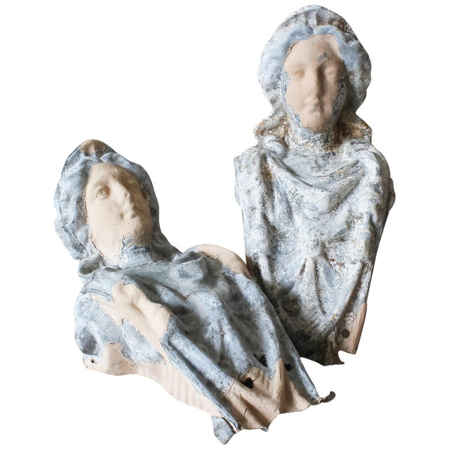 Image of 19th Century Architectural Figurehead Corbels - 2