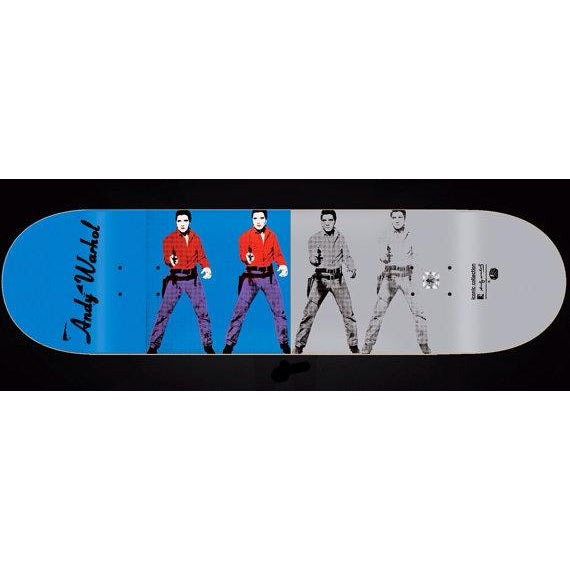 Andy Warhol Elvis Skateboard - Image 2 of 2