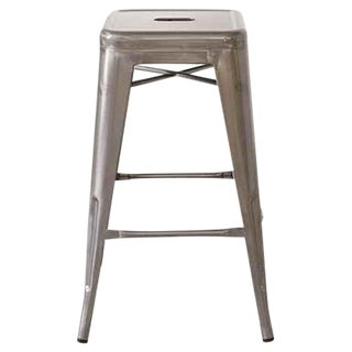 Industrial Steel Counter Stool