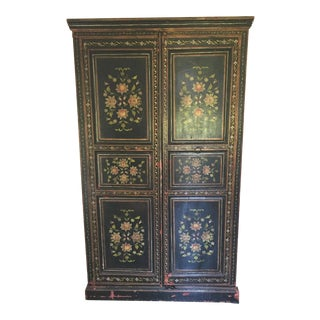 ABC Carpet French Hand Painted Armoire