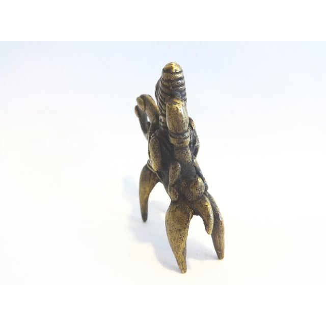 Image of African Dogon Bronze Horseman Gold Weight Mali