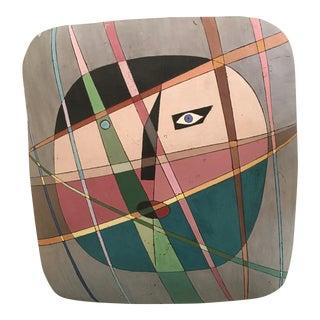 Louis Mendez Studio Pottery Mask Wall Plaque