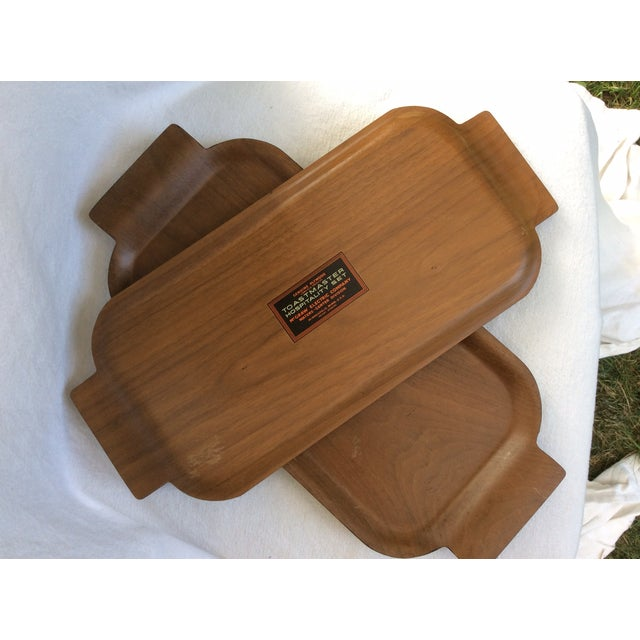 Vintage Plywood Trays - Set of 4 - Image 4 of 5