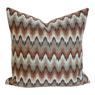 Zig-Zag Style Pillow Cover