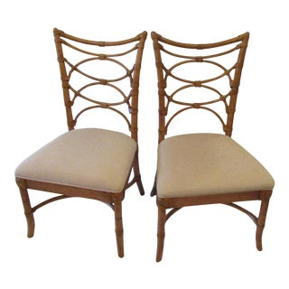 Tommy Bahama Sanibel Side Chairs - A Pair