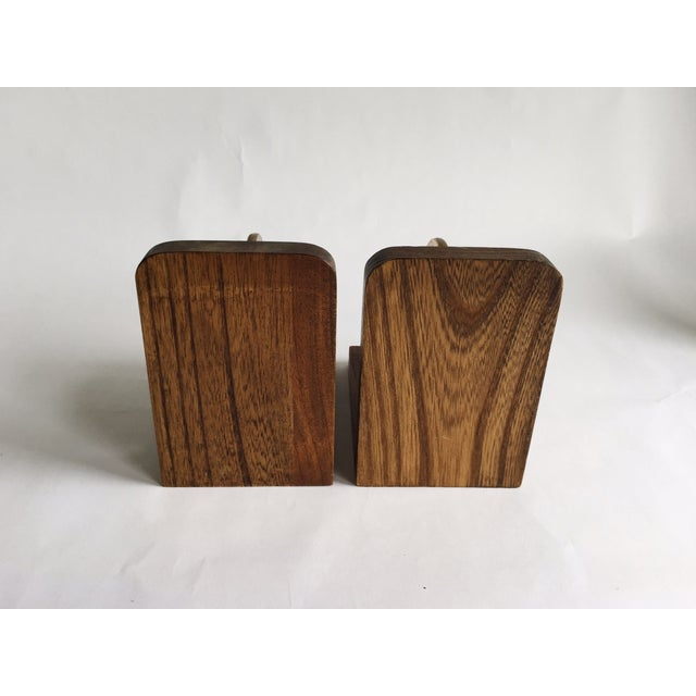 Image of Vintage Spinning Globe Bookends - A Pair