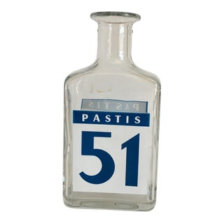Vintage French Pastis 51 Bottle Carafe