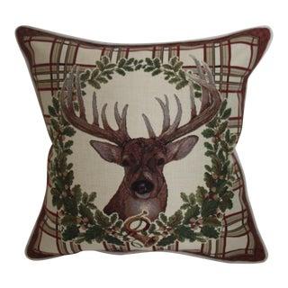 Deer Tapestry Pillow