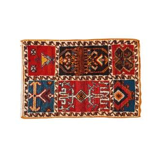 Small Moroccan Berber Rug - 2′2″ × 3′3″