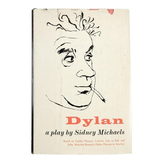 "Sidney Michaels ""Dylan: A Play"" Book"