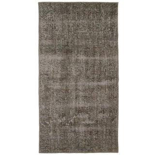 "Grey Overdyed Carpet - 2'4"" x 4'5"""