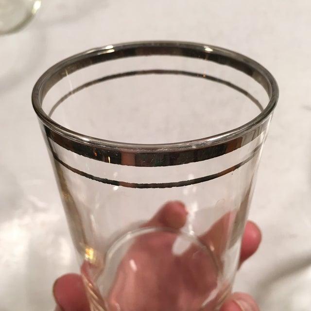 Image of Vintage Mercury Band Glasses - Set of 6