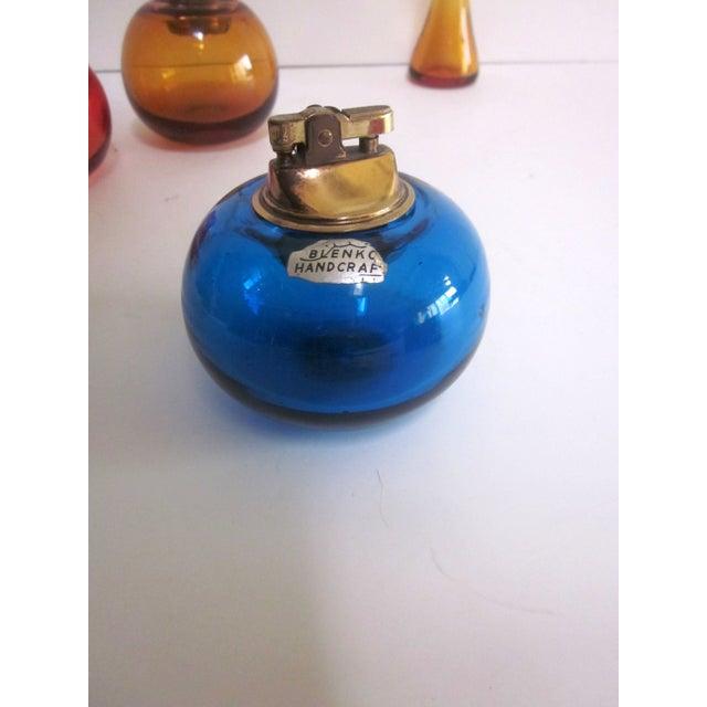 Blenko Glass Lighters - Set of 4 - Image 6 of 8