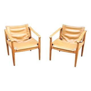 Douglas Heaslet For Brown Saltman Lounge Chairs